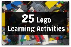 25 Lego Learning Activities - Pinned by – Please Visit for all our pediatric therapy pins Lego Activities, Therapy Activities, Educational Activities, Life Learning, Learning Tools, Lego Math, Lego Lego, Lego Therapy, Cool Lego Creations
