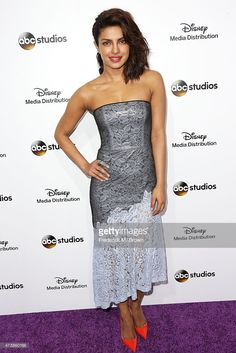 Actress Priyanka Chopra attends Disney Media Disribution International Upfronts at Walt Disney Studios on May 17, 2015 in Burbank, California.  (Photo by Frederick M. Brown/Getty Images)