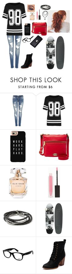 """""""Untitled #517"""" by misswinters ❤ liked on Polyvore featuring Casetify, Mary Kay, FOSSIL, Elie Saab, MAKE UP STORE, Banana Republic, NuCèlle, Ray-Ban, Therapy and NOVICA"""