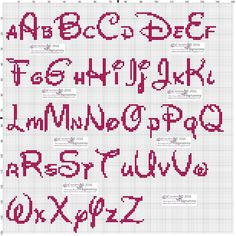 Brilliant Cross Stitch Embroidery Tips Ideas. Mesmerizing Cross Stitch Embroidery Tips Ideas. Cross Stitch Letter Patterns, Monogram Cross Stitch, Disney Cross Stitch Patterns, Cross Stitch Bookmarks, Cross Stitch Baby, Cross Stitch Alphabet, Cross Stitch Designs, Alphabet Disney, Disney Letters