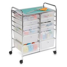 Product Image for Honey-Can-Do® Studio Organizer Cart with Drawers 1 out of 2