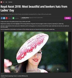 c9235e59 66 Best YUAN LI LONDON Millinery images | Ascot outfits, Costume ...