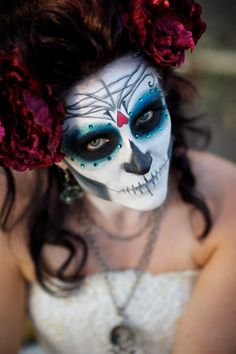 Day of the dead makeup Sugar Skull