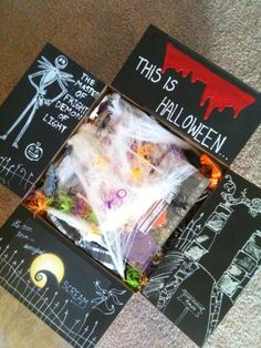 Halloween care package idea – Time to get them in the mail! Halloween care package idea – Time to get them in the mail! Missionary Care Packages, Deployment Care Packages, College Care Packages, Missionary Mom, College Gifts, Cute Gifts, Diy Gifts, Food Gifts, Halloween Care Packages