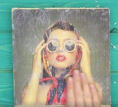 """""""fantastico""""Una tecnica semplicissima per trasferire una foto su legno Oggi voglio mostrarvi una tecnica davvero semplicissima, forse qualcuno di voi la co"""