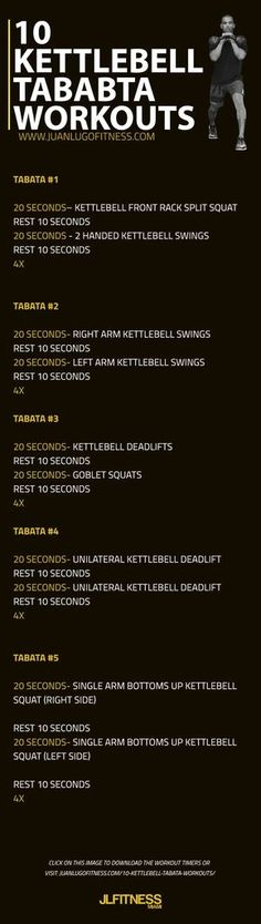 Kettlebell Tabata | Posted By: CustomWeightLossProgram.com