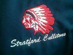 Stratford Cullitons Jr.B. staff worn jacket. GOJHL OHA Blake, Olczyk