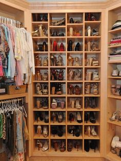 The ultimate shoe closet #Creative #Inspiration #ShoeCloset