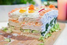 Zweedse vis-taart ~