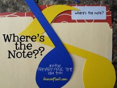 where's the note?? a fun primary singing time (or FHE) game your kids will love!