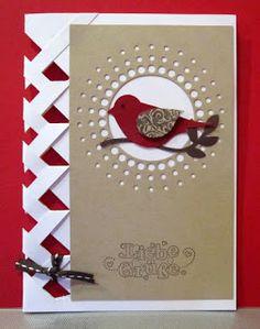 Gegis Bastelkiste: 2 Flechtkarten mit Memory Box und SU