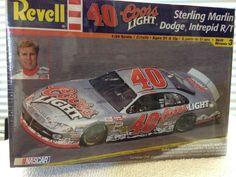 Revell Sterling Marlin COORS LITE #40 Dodge NASCAR 1/24th Model Kit 2006 Sealed #RevellMonogram