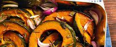 Roasted Pumpkin with Herbs, Food And Drinks, Roasted Pumpkin with Herbs Jamie Oliver, Roast Pumpkin, Food Categories, Roasted Vegetables, Vegan Vegetarian, Carne, Vegan Recipes, Good Food, Food And Drink