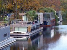 Two Story, Modern Houseboat