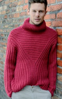 Gorgeous 39 Comfy Turtleneck Shirt Ideas For Men Look More Handsome Mens Fashion Sweaters, Sweater Fashion, Sweater Outfits, Warm Clothes For Men, Mens Turtleneck, Men Sweater, Knit World, Mens Winter Coat, Warm Outfits
