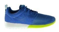 wholesale dealer 5781a 2ca6d Nike Roshe Run (Military Blue Turbo Green)