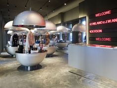 A futuristic concept store by Aldo Carpinteri and Giordano Ollari DISHES OUT AN ALTERNATIVE RETAIL M - News - Frameweb