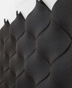 Ecoustic Moov by Instyle - An elegant three dimensional acoustic tile designed to provide excellent broadband sound absorption