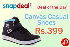 Snapdeal #DealofTheDay is offering 60% off on #Canvas #Casual #Shoes by Aadi just at Rs.399.  http://www.paisebachaoindia.com/canvas-casual-shoes/