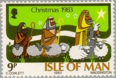 ◇Isle of Man 1983 Scenes from the Bible