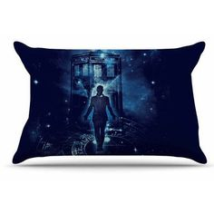 East Urban Home Time Traveller by Frederic Levy-Hadida Pillow Sham Size: Standard