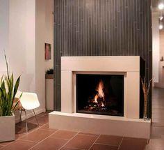 Fireplace Makeover Ideas – Modern Style Fireplaces for Home Atmosphere: Fireplace Makeover Ideas With Ceramic Floor ~ gozetta.com Indoor Inspiration