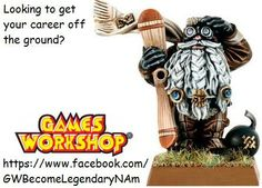 Start a Career with Games Workshop