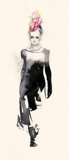 Natalia Sanabria illustration x