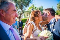 Wedding Moments, Athens, Most Beautiful, Kiss, Vintage Fashion, In This Moment, Bride, Wedding Dresses, Style