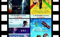 Elvas: Quatro filmes para ver, em Dezembro, no Auditório São Mateus