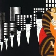 The Artwork of Russian Art Deco Artist Erté