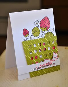 Simply Stamped: Strawberry Patch Revisited