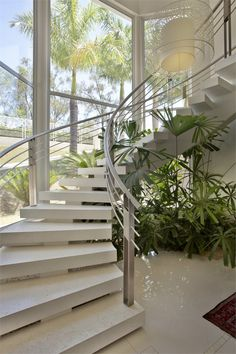 RESIDENCIA CL, SAO PAULO, BRASIL - PUPOGASPAR ARQUITETURA E INTERIORES - Sao Paulo, Brazil - 2008 #stair #interiors #architecture #design