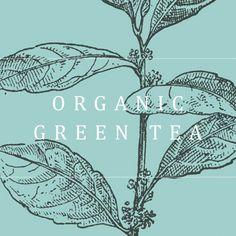Organic Green Tea, Decor, Decoration, Decorating, Deco