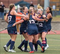 Eastern's field hockey team advanced to the LEC finals for the first time in the program's history!