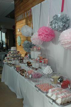 Wedding Dessert Table - EdibleDelightsOnline.com