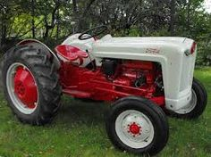 Image result for 1960`s old farm ford tractors