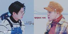 JIKOOK KOOKMIN  JK: Park Jimin ven aqui  JM: (en satoori) dilo con honoríficos  JK: * se rie *