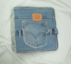 Covered Denim Notebook Tutorial by ljeans on Etsy