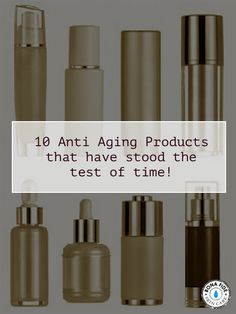"""They have weathered the marketing hype, the introduction of """"new miracles"""", and continue to be some of the best anti aging products out there. Rely on these old faithfuls!"""