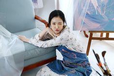 Son Na Eun Apink❤ Kpop Girl Groups, Korean Girl Groups, Kpop Girls, Byun Jungha, Son Na Eun, Apink Naeun, Female Stars, Yoona, South Korean Girls