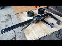 Моё изобретение, финальная версия. - YouTube Homemade Tools, Diy Tools, Metal Crafts, Diy And Crafts, Jigsaw Table, Blacksmith Shop, Metal Tools, Welding Projects, Blacksmithing