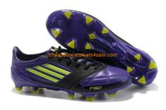 new arrival 00cef 6d871 New adidas adizero TRX FG Leather Micoach Bundle Shoes Purple Green Black  Football Shoes For SaleFootball Boots For Sale