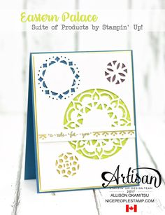 Hello my friends and welcome to the official Stampin' Up! Artisan Design Team Blog Hop. We are a team of 20 creatives from all over t...