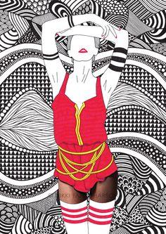 Mixed Media Maiden: Chantal - Shop   Nikki Farquharson