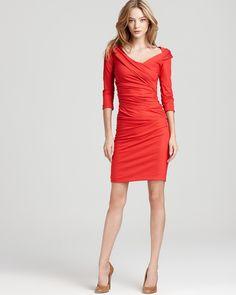 DIANE von FURSTENBERG Dress - Bentley Ruched    (Bloomingdale's)