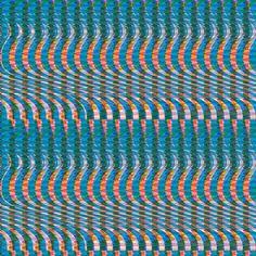 Sound Effects Create Bold Glitch Art Patterns   The Creators Project