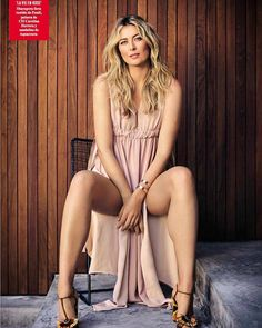 Portrait by @aspictures: ( also at @iso1200 )  And the resultthats what 62 looks like seated.  Maria Sharapova in Fendi as part of the cover story for the new issue of Vanity Fair Spain.  The first credit in this post MUST go to someone who is often the last person I credit and that's @angiemariehayes who has been post producing my imagery for a decade.  What we used to do in the darkroom (dodging burning and color correcting) is what she does in Photoshop every day AND then she works her…