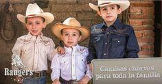 El amor por lo mexicano se inculca desde pequeños, conoce nuestra línea infantil de camisas charras y vaqueras.