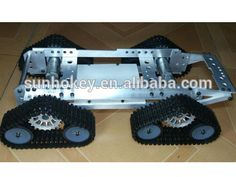 Tank Caterpillar Tractor Chassis Crawler Wall-E Intelligent Robot Car RC remote control UNO R3 ATMEGA Raspberry pi pcduino DIY